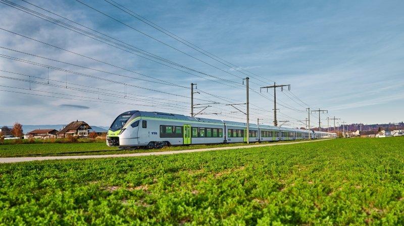 Nouvelles rames de BLS sur la ligne Neuchâtel-Berne