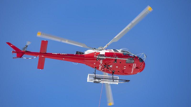 Un avion et un hélico de la Rega se sont dangereusement frôlés près de la frontière