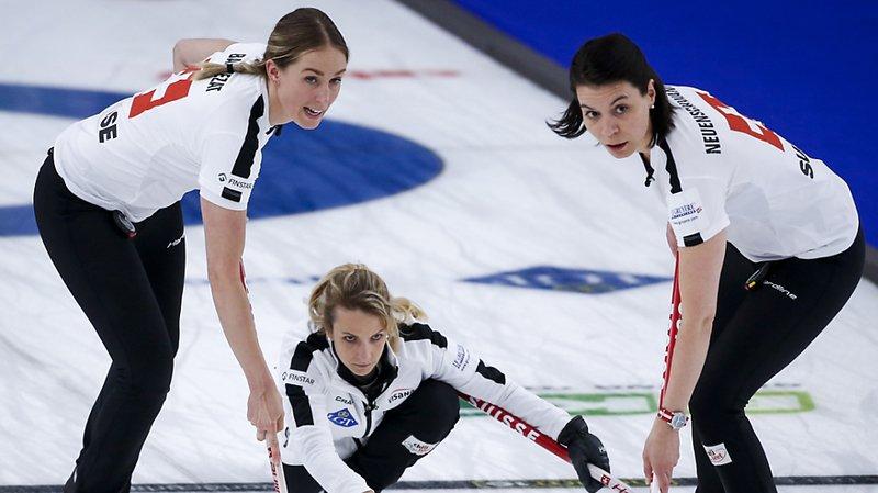 Curling: les Suissesses défendront leur titre en finale du Mondial de Calgary