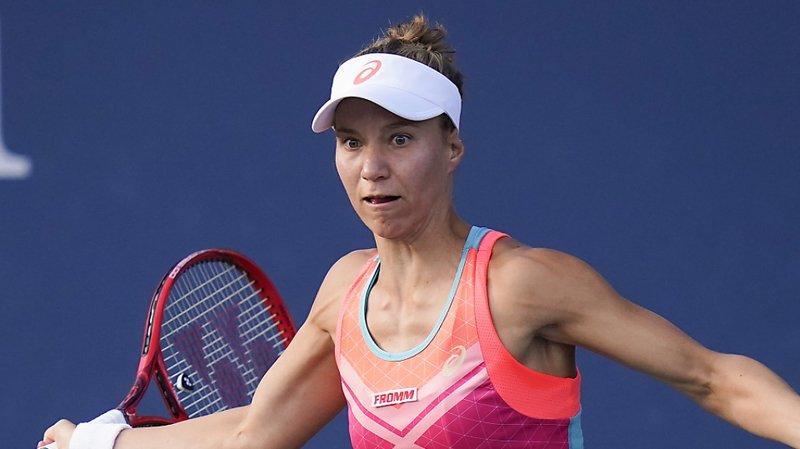 Tennis: Viktorija Golubic remporte le tournoi de St-Malo