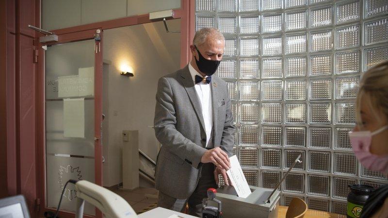 Cantonales 2021: le Vert Roby Tschopp restera conseiller communal de Val-de-Ruz