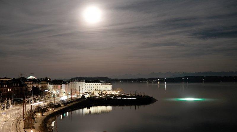 Les étranges lueurs dans le lac de Neuchâtel? C'était le Nifff