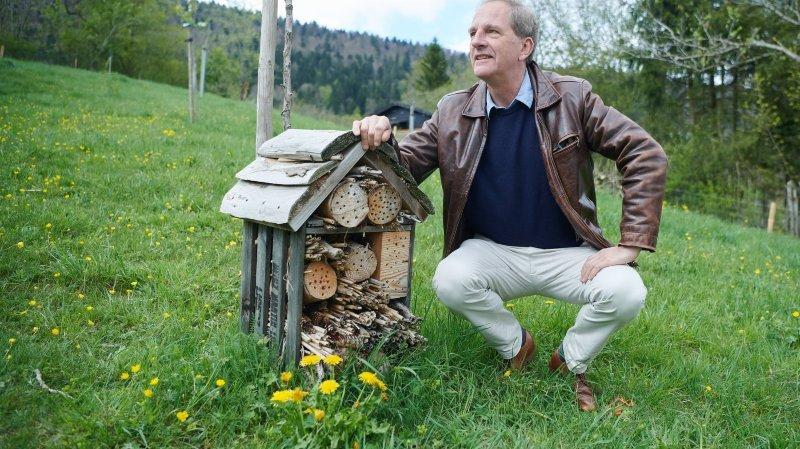 Il montre la face cachée des pommes, du Chili au Val-de-Ruz