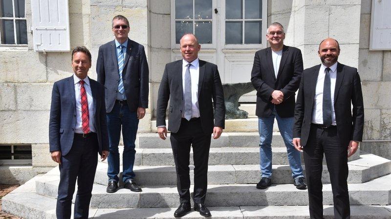 Le président du Conseil national en visite au Locle