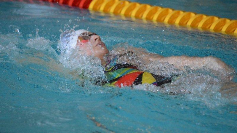 Lorine Bonjour s'est illustrée en dos. Elle a notamment terminé deuxième sur 100 mètres.