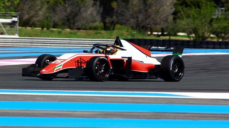 David Kullmann signe de bons débuts en Formule 3 régionale