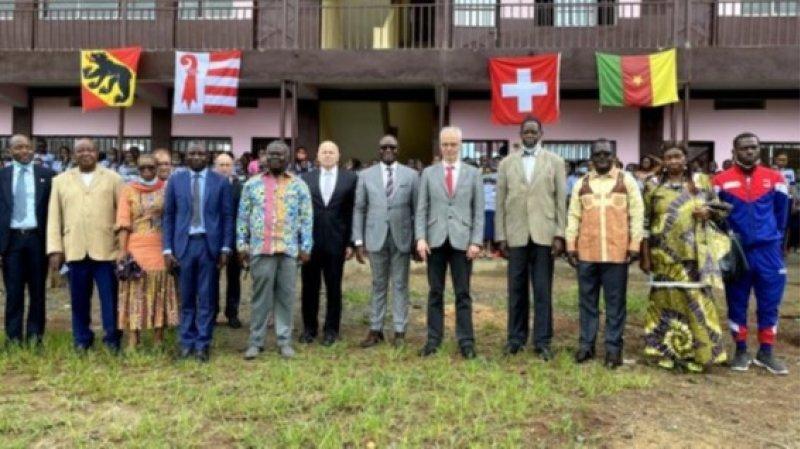 Une école camerounaise se développe grâce à la Fondation rurale interjurassienne
