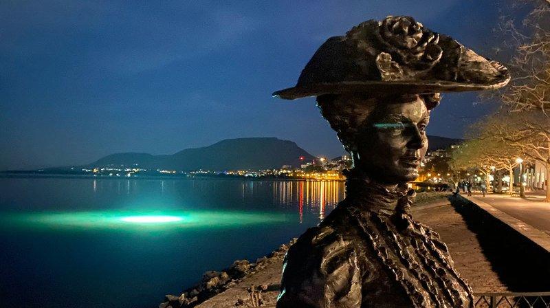 D'étranges lumières dans le lac de Neuchâtel