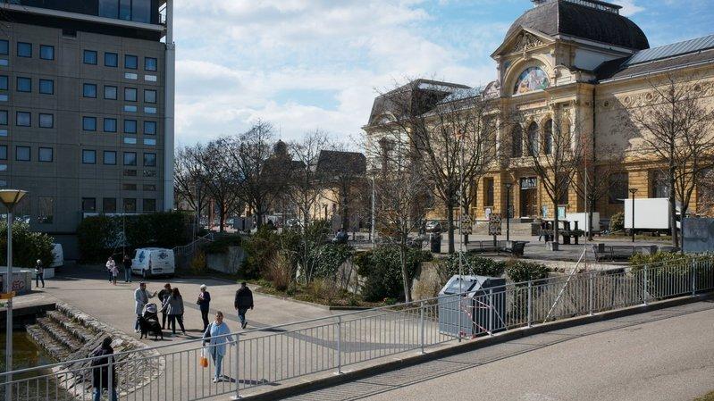 Neuchâtel: c'est parti pour les nouvelles Jeunes-Rives!