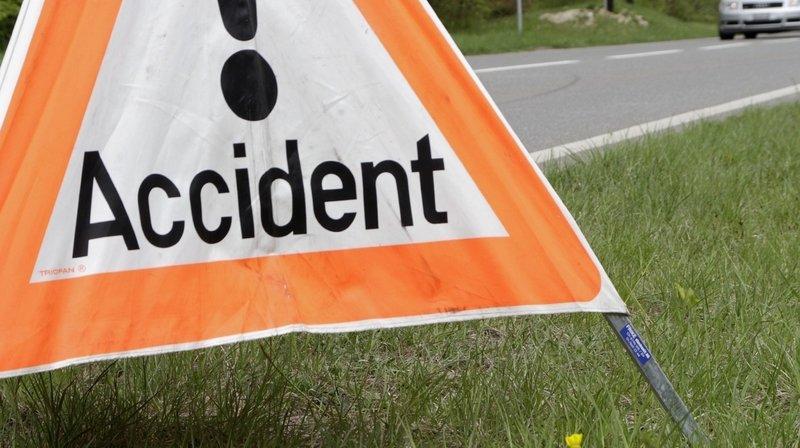 Jeune motard blessé lors d'une chute à Chez-le-Bart