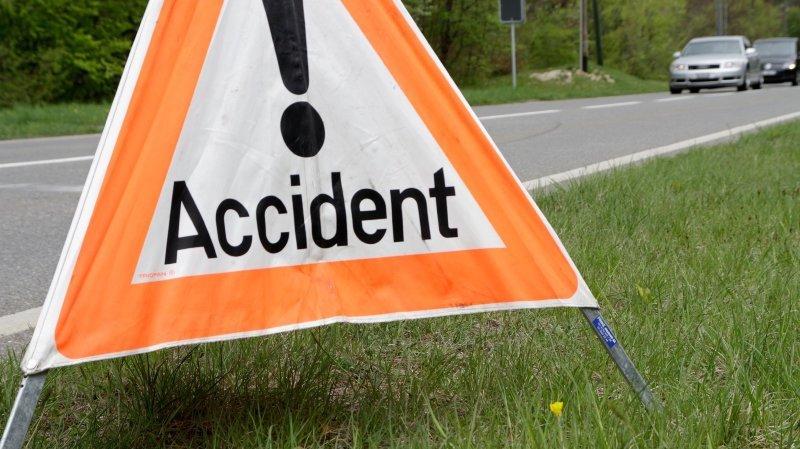 Accident avec blessé à Boudevilliers
