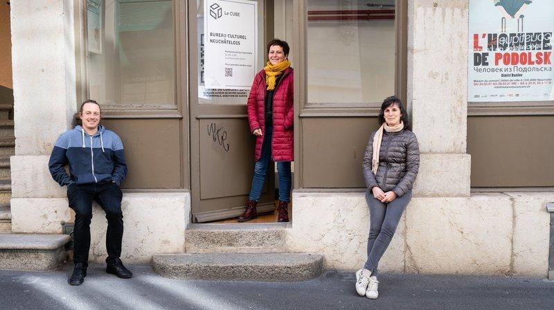 A quoi sert Le Cube, le nouveau bureau culturel neuchâtelois?