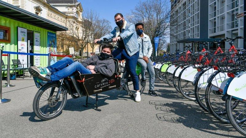Neuchâtelroule, le paradis du vélo au port de Neuchâtel