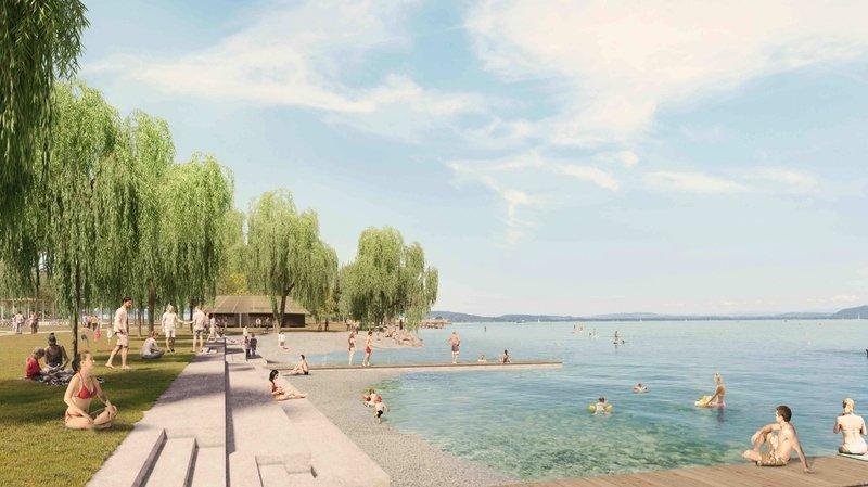 Neuchâtel: le parc des Jeunes-Rives sera bientôt une réalité