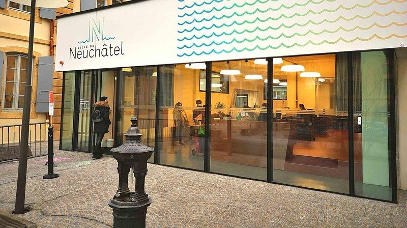 La Ville de Neuchâtel offre un nouveau guichet d'accueil à ses habitants