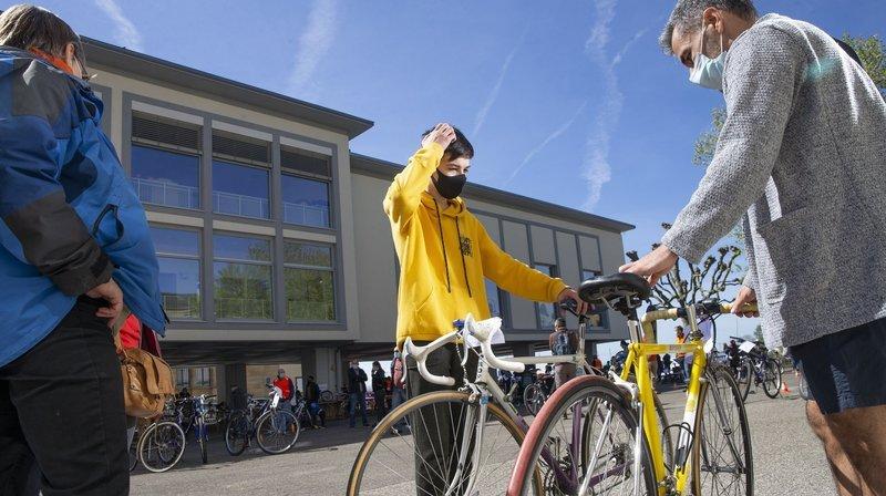 Ça roule pour la bourse aux vélos de Neuchâtel!