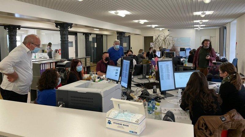 Scan des bulletins de vote des potron-minet dans le canton de Neuchâtel