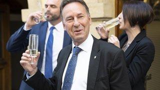 Cantonales 2021: des œufs, du bacon, et une élection pour Alain Ribaux