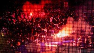 Présence des fans de Grasshopper: la police neuchâteloise «surprise et pas contente»