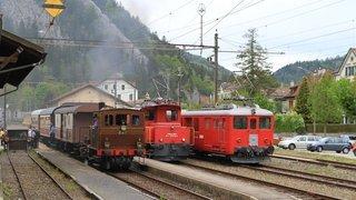 Val-de-Travers fait revivre ses trains historiques ce week-end