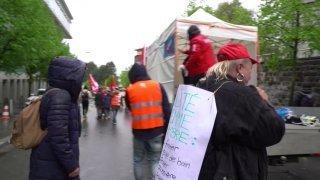 Cleanfeed: Ni la pluie, ni la pandémie n'ont eu raison du 1er Mai