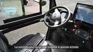 Fribourg: démonstration du 1er véhicule conduit à distance en Suisse