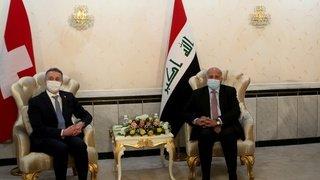 Diplomatie: la Suisse s'engage à promouvoir le dialogue au Moyen-Orient