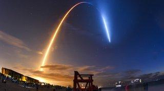 SpaceX en route vers l'ISS avec 4 astronautes à bord