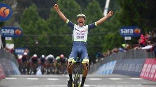 Cyclisme – Giro: exploit du Néerlandais van der Hoorn lors de la 3e étape, Pellaud en vue