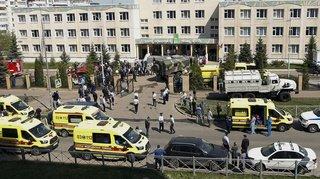 Fusillade dans une école de Kazan, en Russie: le bilan grimpe à onze morts, 32 blessés