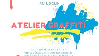 Atelier découvert de l'art du Graffiti