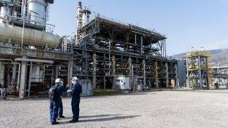 La raffinerie de Cressier à l'arrêt pour sept semaines