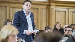 Raphaël Grandjean regrette que les vert'libéraux appellent à voter pour Roby Tschopp