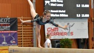 Plus de 200 jeunes gymnastes à la Maladière