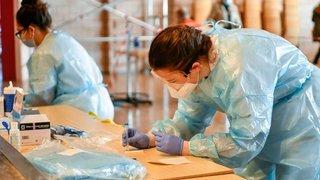 Dépistage massif: trois cas positifs au coronavirus pour 341 tests à Saint-Aubin