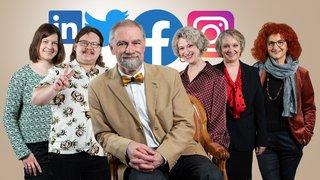 Course au Conseil d'Etat neuchâtelois: qui sont les champions des réseaux sociaux?