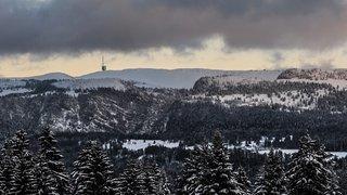 Photographie: le canton de Neuchâtel en manteau blanc