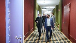 La Chaux-de-Fonds: quand un ancien hôpital devient une école