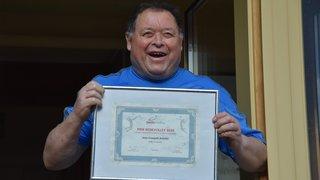 Le Loclois Jean-François Schulze reçoit le «Prix du bénévolat» de la part de la fédération