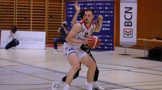 Basketball: Union Neuchâtel démarre les play-off pied au plancher