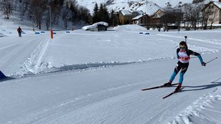 Biathlon: le jeune Neuchâtelois François Mars se distingue