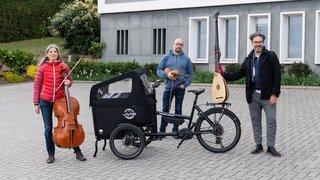 Neuchâtel: des mini-concerts baroques en plein air et à vélo
