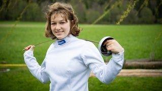 Vanie Gogniat: son combat contre la dyslexie, elle le gagne de la pointe de son épée