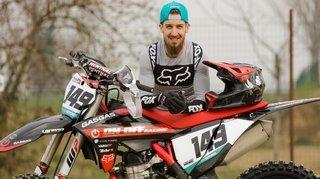 Motocross: Vincent Seiler a hâte de remettre le moteur en marche