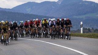 Cyclisme: l'étape Sion-Thyon 2000 avancée de 2 heures, nombreuses routes fermées dans la région