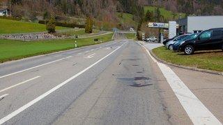Val-de-Travers: travaux prévus sur la H10 entre le Pont des Chèvres et Boveresse