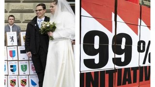 Votations fédérales du 26 septembre: le mariage pour tous et l'initiative 99% au menu