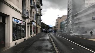 Les fans de Grasshopper défilent à Neuchâtel