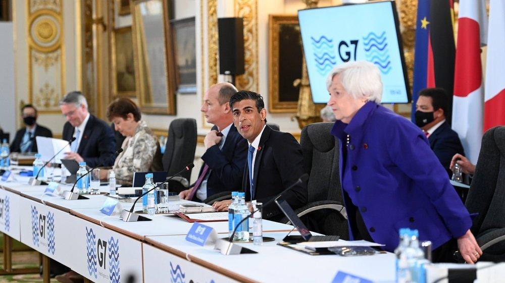 Les ministres du G7 étaient réunis ce week-end à Londres.