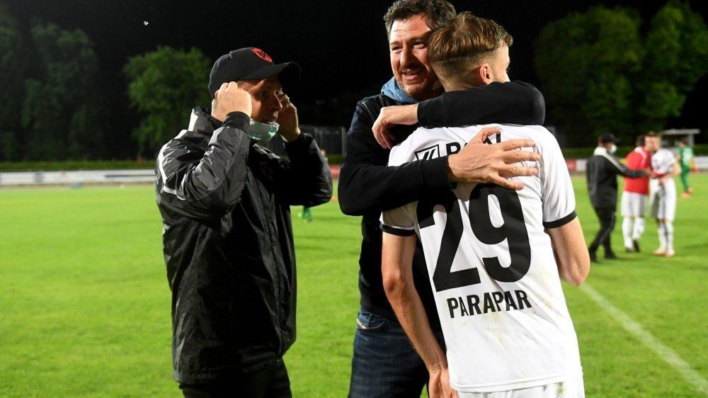 L'entraîneur Andrea Binotto et le milieu de terrain Juan Manuel Parapar devraient continuer à travailler ensemble à Xamax.